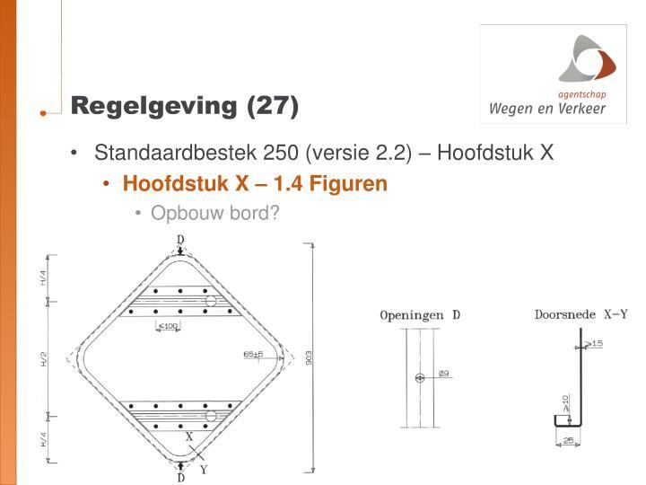 Regelgeving (27)