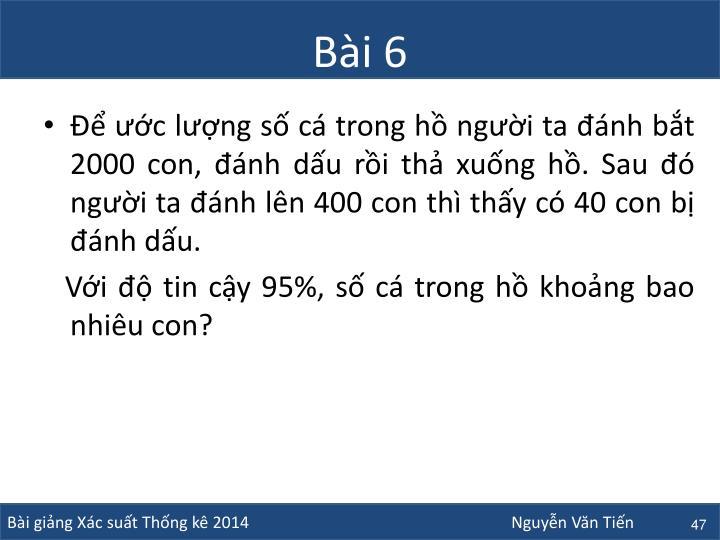 Bài 6