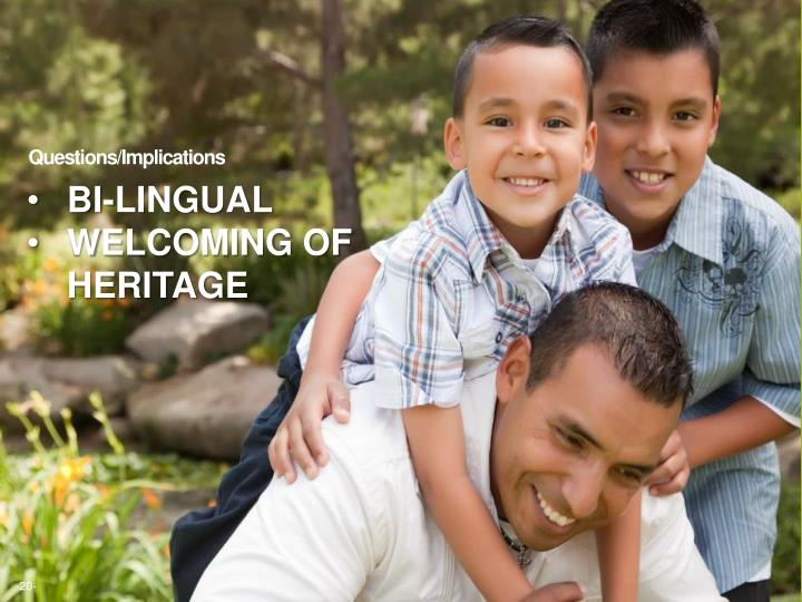 Bi-lingual
