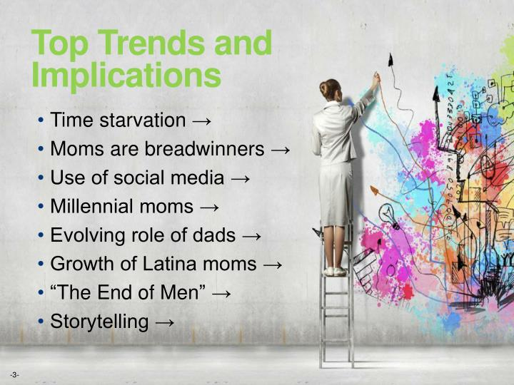 Top Trends and Implications