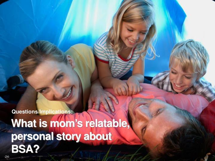 Questions/Implications: