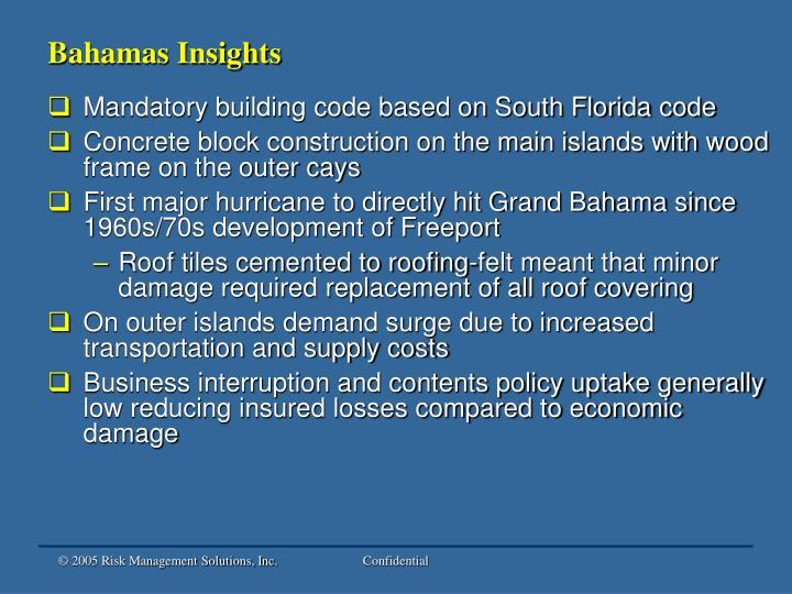 Bahamas Insights