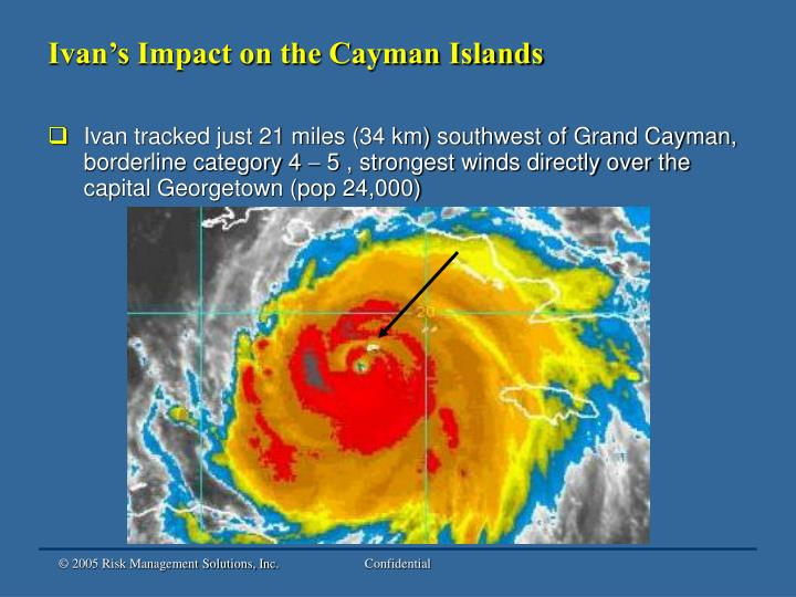Ivan's Impact on the Cayman Islands