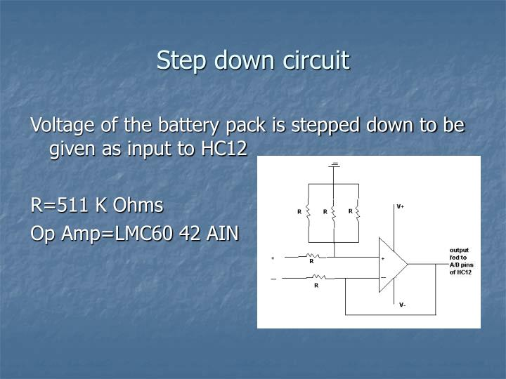 Step down circuit