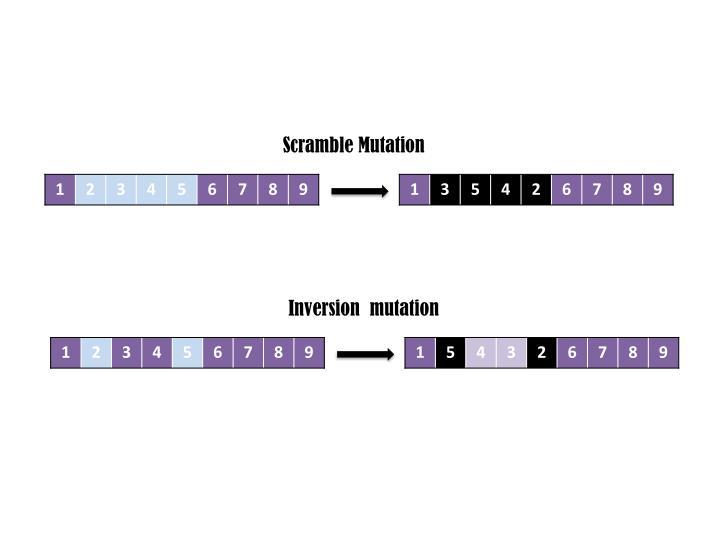 Scramble Mutation