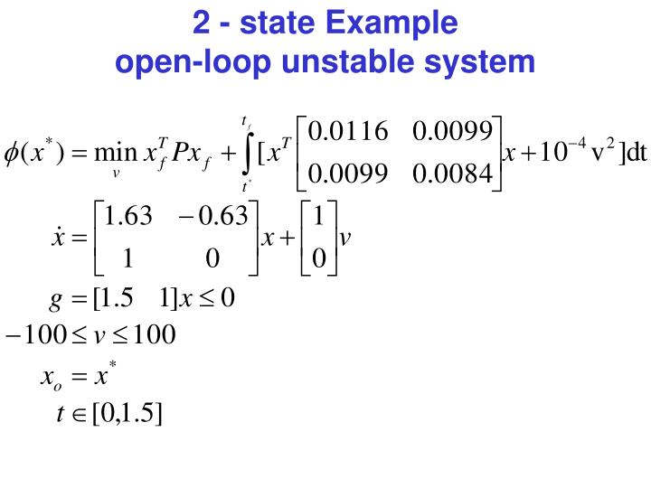 2 - state Example