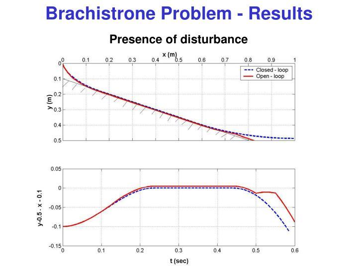 Brachistrone Problem - Results