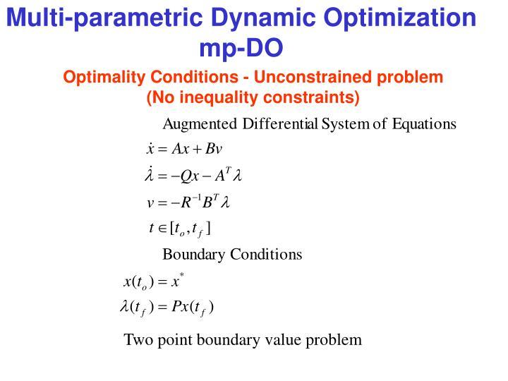 Multi-parametric Dynamic Optimization