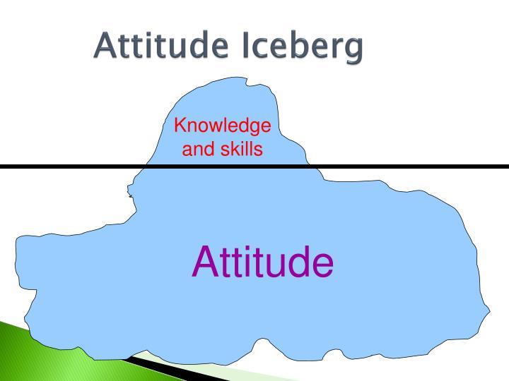 Attitude Iceberg