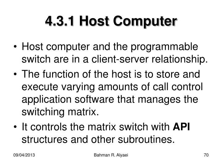 4.3.1 Host Computer