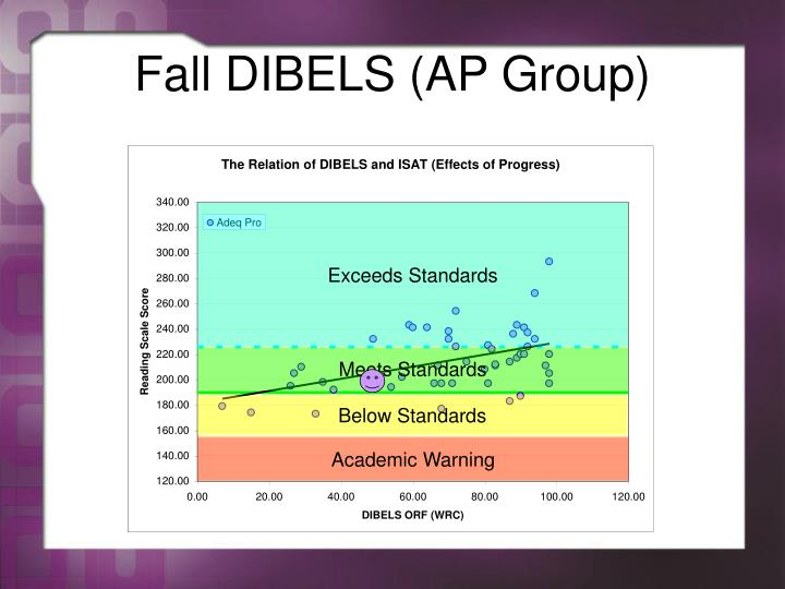 Fall DIBELS (AP Group)