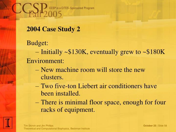 2004 Case Study 2
