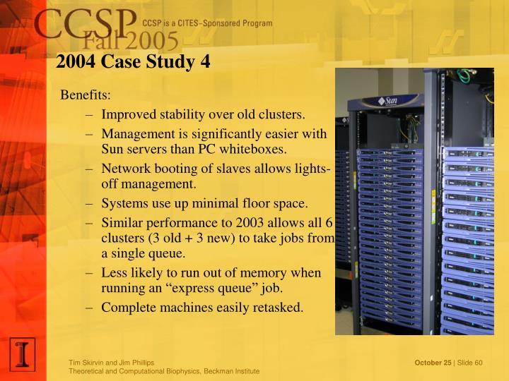 2004 Case Study 4