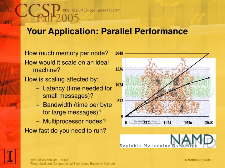 Your Application: Parallel Performance