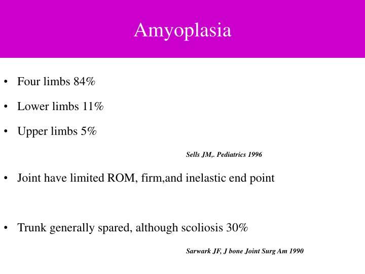Amyoplasia