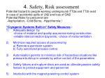 4 safety risk assessment