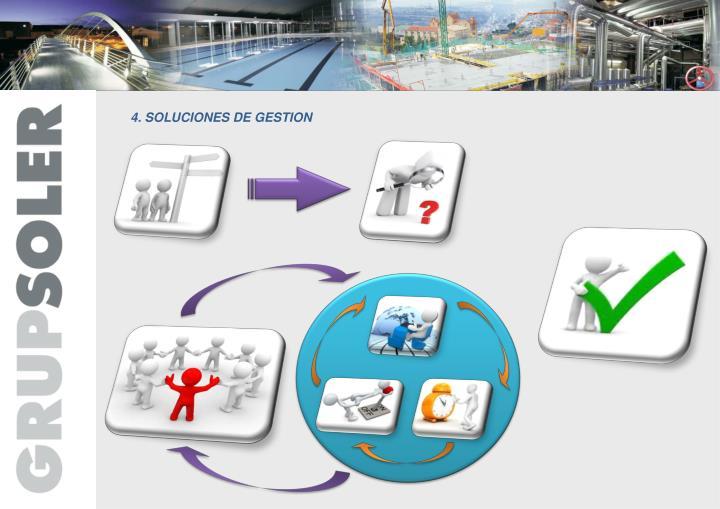 4. SOLUCIONES DE GESTION