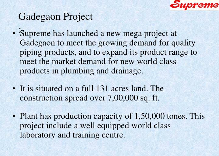 Gadegaon Project