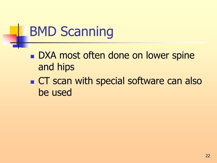 BMD Scanning