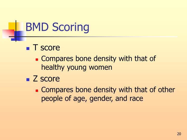 BMD Scoring
