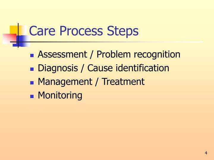 Care Process Steps