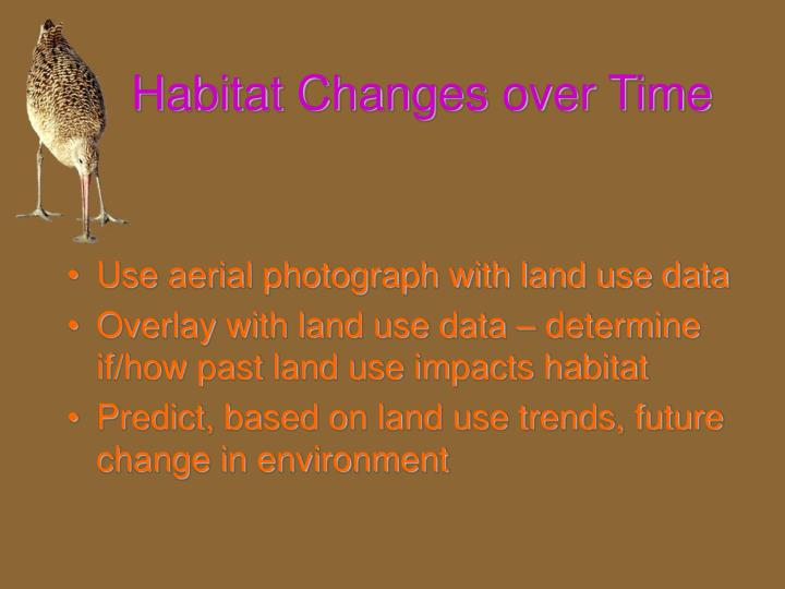Habitat Changes over Time