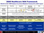 2008 healthcare soa framework based on hl7 ehr system functional model thomas erl s soa layers
