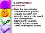 12 communicative competence