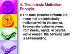 4 the intrinsic motivation principle