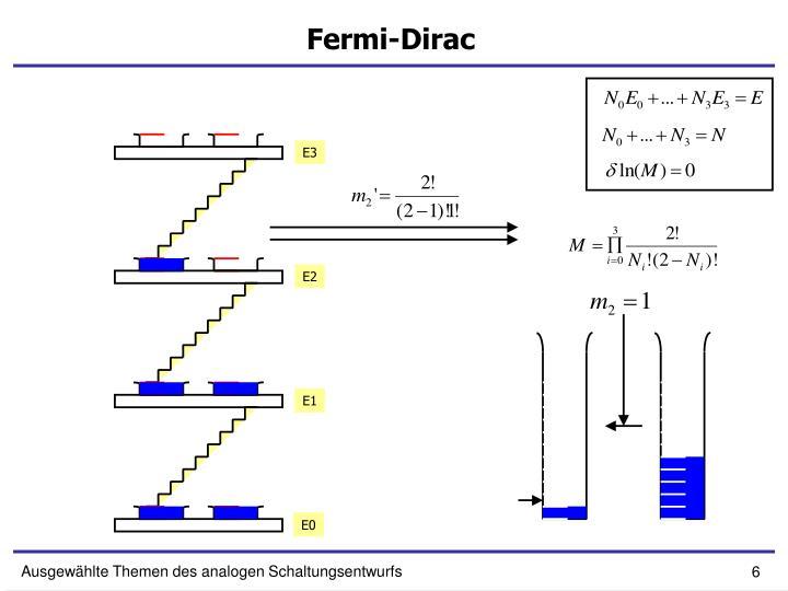 Fermi-Dirac