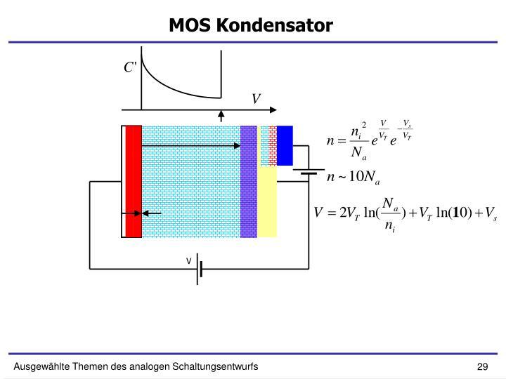 MOS Kondensator