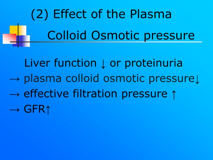 (2) Effect of the Plasma