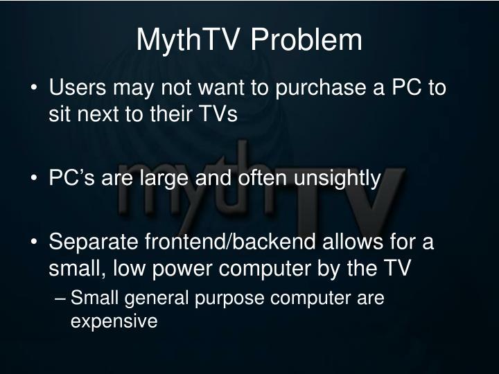 MythTV Problem