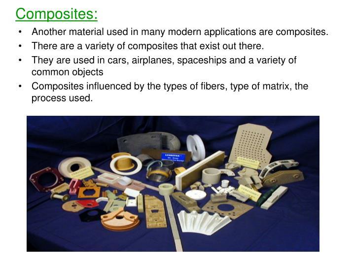 Composites: