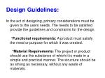 design guidelines1