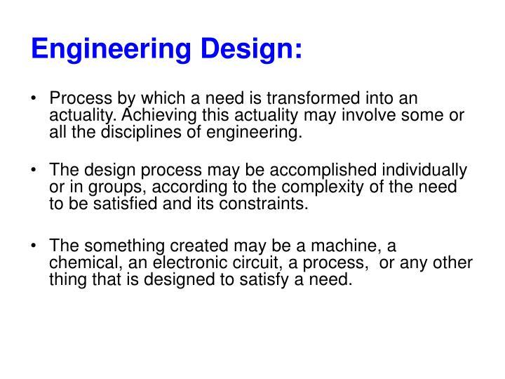 Engineering Design: