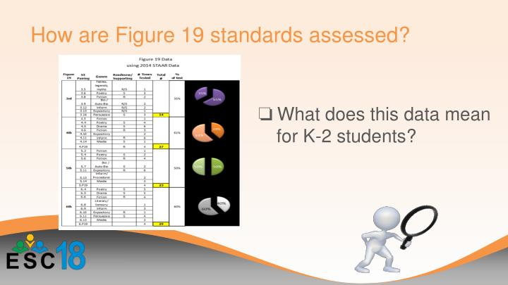 How are Figure 19 standards assessed?