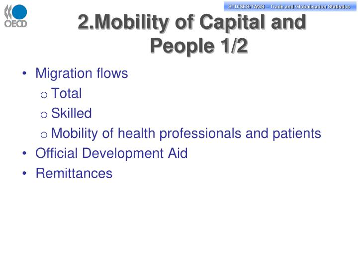 2.Mobility of Capital and People 1/2