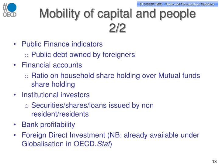 Mobility of capital and people 2/2