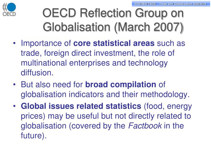 OECD Reflection Group on Globalisation (March 2007)