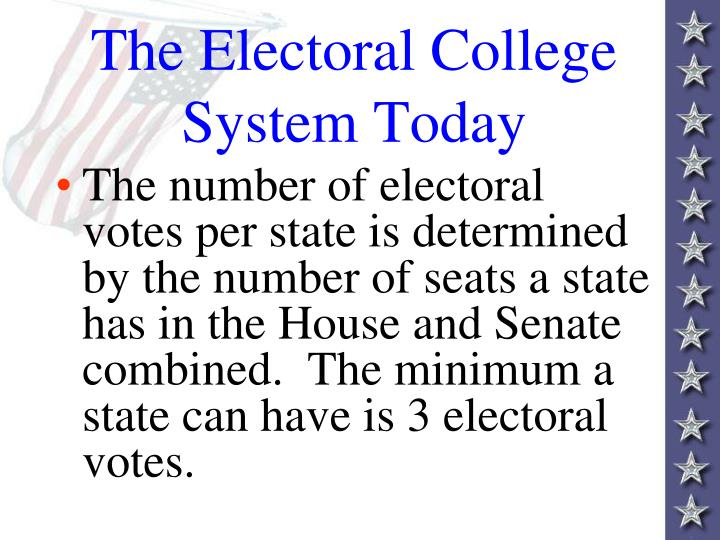analyze criticism of the electoral college The official us electoral college view and analyze and the congress in the electoral college process each state's electoral votes are counted in a joint.