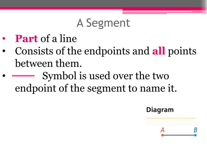 A Segment