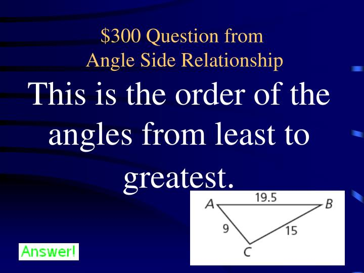 $300 Question from