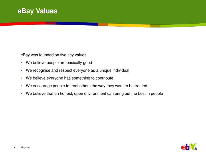 eBay Values