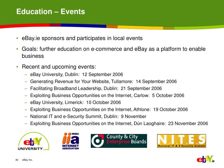 Education – Events