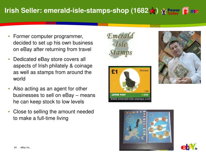 Irish Seller: emerald-isle-stamps-shop (1682    )
