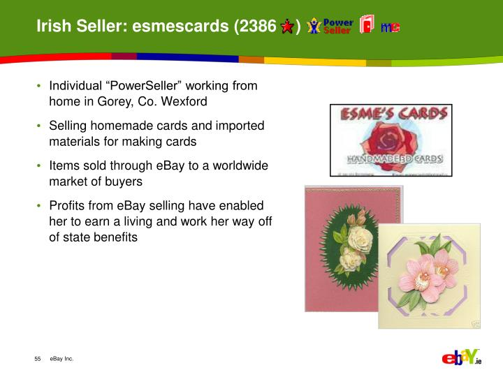 Irish Seller: esmescards (2386    )