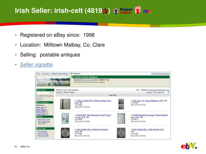 Irish Seller: irish-celt (4819   )