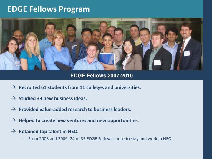 EDGE Fellows Program