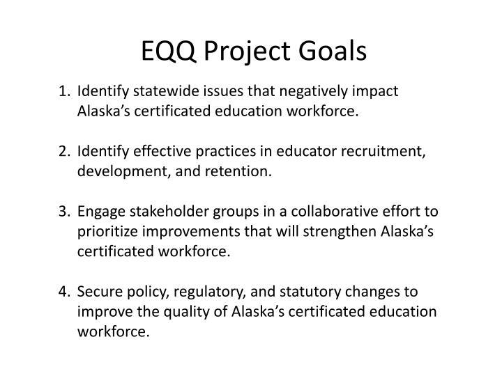 EQQ Project Goals